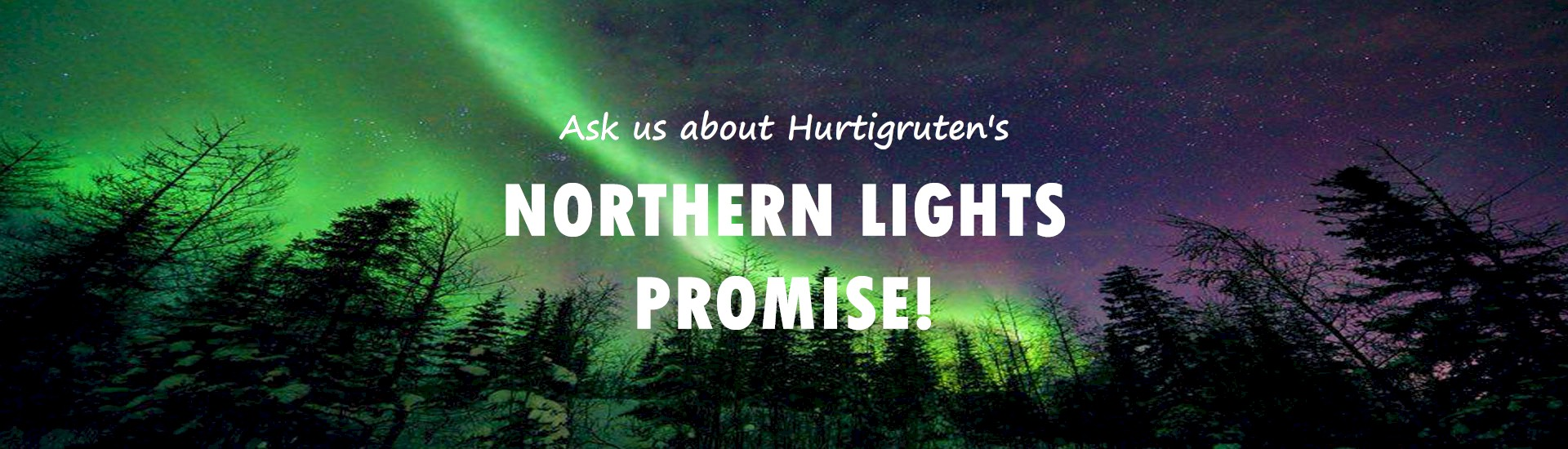 Ask us about Hurtigruten's